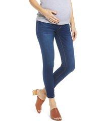 1822 denim butter ankle skinny maternity jeans, size 29 in lennox at nordstrom