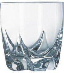 conjunto com 6 copos lisbonne em vidro 300ml luminarc