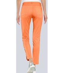 byxor alba moda orange