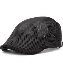berretto coppola pura in mesh traspirante regolabile