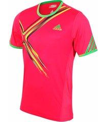 camiseta tenis original adidas men's adizero v39041 talla s
