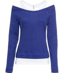maglia 2 in 1 (blu) - rainbow