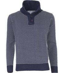 sweater cuello cruzado kotting