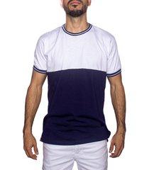 camiseta multicolor frank pierce cortes azul x2113
