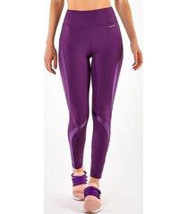 calça legging alto giro bodytex recortes atlanta roxo 2112330 deluge