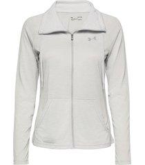 tech full zip twist sweat-shirt tröja grå under armour