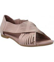 sandalia cuero amber rosa rockford