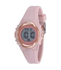 relógio digital speedo feminino - 80635l0evnp1 rosê