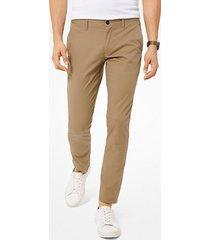pantalone chino skinny in cotone stretch