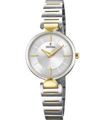 reloj blanco festina mujer mademoiselle