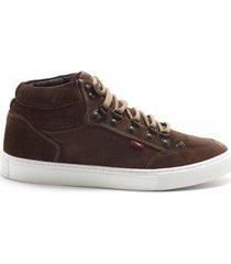sapatênis ferracini mobi rustic sneaker masculino - masculino