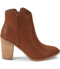 patton faux suede booties