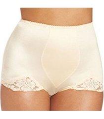 """rago """"v"""" leg light shaper panty brief in extended sizes"""