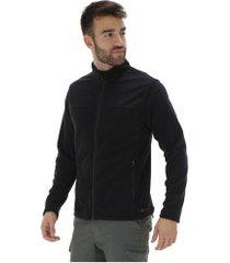 jaqueta de frio fleece nord outdoor basic new - masculina - preto