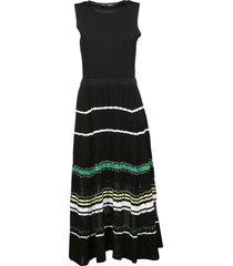 proenza schouler flared stripe dress