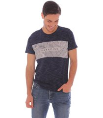 camiseta casual paradise - hombre