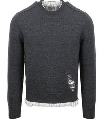maison margiela anonymity of the lining pullover