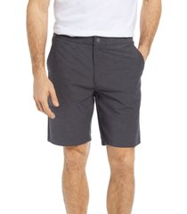men's johnnie-o dawn 2 dusk hybrid shorts, size 38 - black