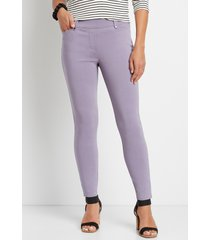 maurices womens lavender bengaline skinny ankle pants purple