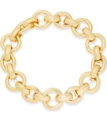 alfani large link stretch bracelet, created for macy's