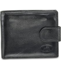 mancini equestrian2 collection rfid secure wallet with coin pocket and card sleeves