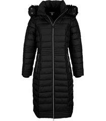 gewatteerde jas alba moda zwart