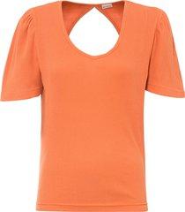 maglia con scollo sulla schiena (arancione) - bodyflirt