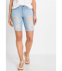 skinny jeans bermuda destroyed