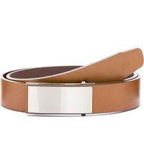 cinturón marrón prototype noe