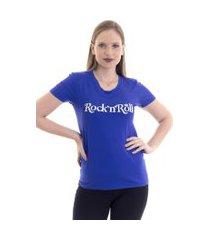 blusa kassis t-shirt azul