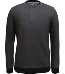 alfani men's quarter-zip sweater, created for macy's