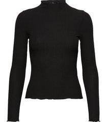 onlemma l/s high neck top noos jrs stickad tröja svart only