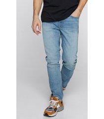slim premium jeans - ljusblå