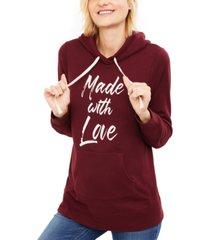 motherhood maternity made with love hoodie