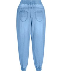 7/8 jeans met comfortband, loose fit