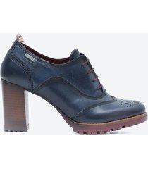 zapato casual mujer pikolinos z0v3 azul oscuro