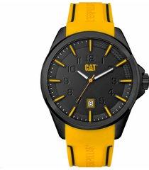 reloj amarillo cat slate