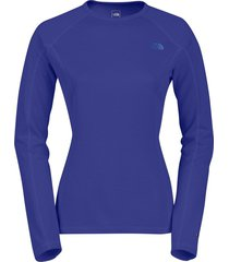 blusa mujer warm l/s crew neck hgr the north face