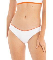 women's tavik ali bikini bottoms, size large - white