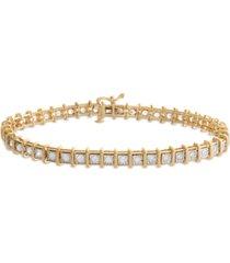 diamond tennis bracelet (2 ct. t.w.) in 14k white, rose gold or yellow gold