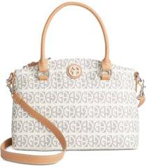 giani bernini block signature mini satchel, created for macy's