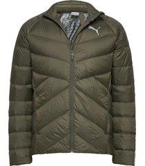 pwrwarm packlite 600 down jacket gevoerd jack groen puma