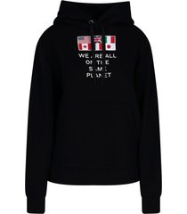 poulter flags hoodie