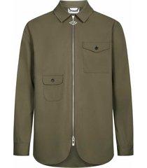 army shirt zip