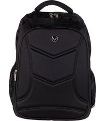 mochila para notebook executiva yepp toledo com alca acolchoada preta preto