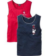 canotta in confezione da 2 (rosso) - bpc bonprix collection