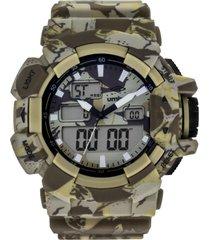 reloj digital análogo beige umbro