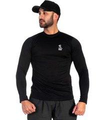 camiseta microfibra respirável conforto casual selten masculina - masculino