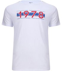 camiseta 1978 color blanco, talla xs