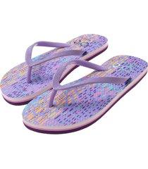 sandalia violeta  offcorss